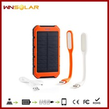 OEM flashlight power bank mobile solar phone charger for digital camera,DV and other digital products