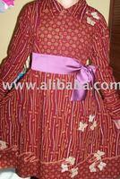 Women batik fashion dress