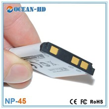 NP-45 rechargeable 740mAh 3.7v li-polymer battery cell for Fujifilm