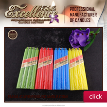 Colorful Paraffin Wax Household Candle Wholesale/ Velas/ Bougies Made in China/ Bougies