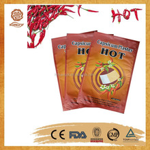 2015 direct factory CE approved OEM service finely processed capsicum plaster/pain relief patch