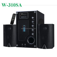 super bass home theater surround sound system with amplifier with ce rohs with USB/SD/FM/2MIC Slot/Remote Control