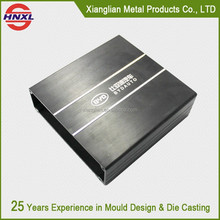 aluminum precision cnc machining part audio faceplate, die casting aluminum faceplate