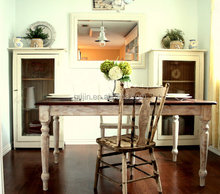 Farm House Country Recycled Wood Dining Table