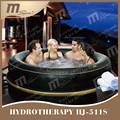 Mspa lujo exótico HJ-511S inflable Portable spa, caliente exterior
