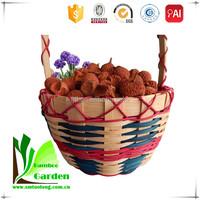 Kitchen Wood Chip Easter Hanging Basket