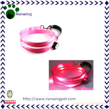 Pink Nylon Custom Led Dog Leash Wholesales