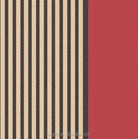 red and black stripe design fashion style polyester fabric home textile