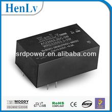 ac dc convertidor 110v 3.3v, 3w sola salida ac dc convertidor