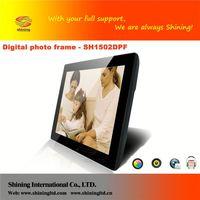 SH1502DPF high quality 15 inch car / bus / metro commerical digital photo frame