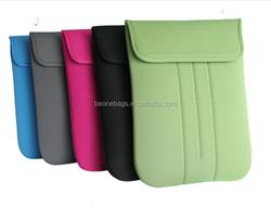 Beone Factory Direct Low MOQ Velcro Closure Neoprene Laptop Sleeve