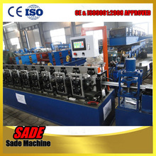 roller shutter door roll forming machine good appearance steel profile roller shutter door gate frame shapping machine
