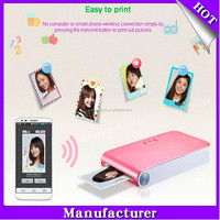 Pocket Photo Printer PD233 Mobile Mini Photo Printers For Android And For Iphone Bluetooth Mobile thermal printer