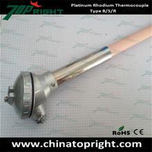 platinum rhodium S type thermocouple
