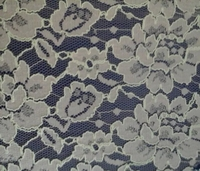 Cord lace fabric in floral design offered by Asian manufacturer