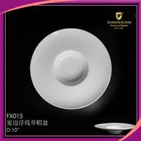 Nice design 2015 bulk buy from china wholesale white china plate