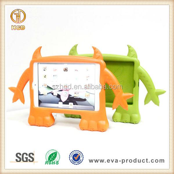 Cartoon Demon design Kid safe shockproof EVA case for tablet ipad mini