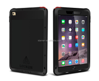 Powerful Tablet Case,Love Mei For iPad Air 2 Aluminum Metal Waterproof Rugged Protective Case