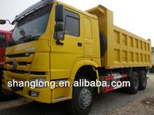 30-40T load capacity 336hp howo 15m3 truck
