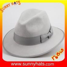 Wholesale Alibaba 100% wool felt safari wide brim man hats