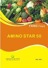 Yellowish powder 50% Amino acid organic fertilizer
