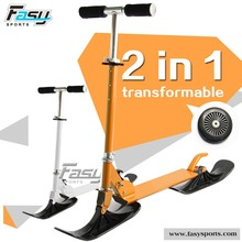 Fasy cool fashion kick scooter, new design snow scooter sled