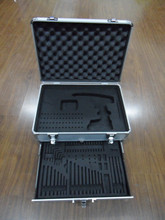 Two Layer Aluminum Gun Cleaning Kit Case