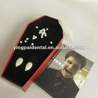 Popular Party Teeth Toy / Vampire Fake Fangs For Halloween Accessories