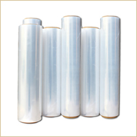 clear lldpe stretch film thick plastic sheeting roll