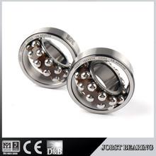 cheap ball bearings NYLON CAGE double row 1206 ETN bearing
