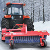 snow sweeper for farm tractors