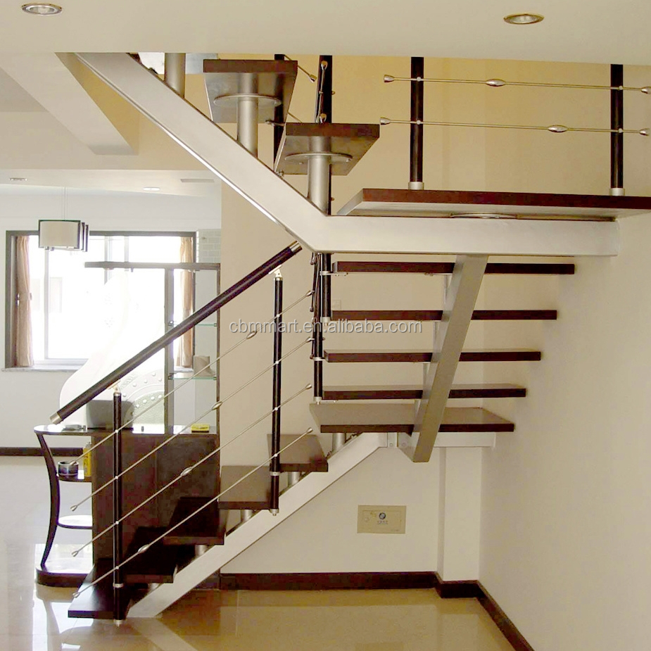 Stainless Steel Staircase Design With High Quality Sprial