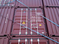 high quality 20GP ISO Shipping dry cargo steel container