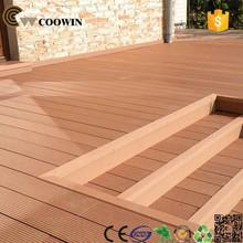 Wood plastic composite decking building material supplier