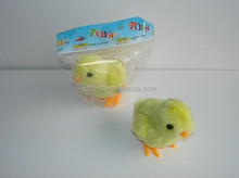 2015 new toy small plastic wind up chicken toy