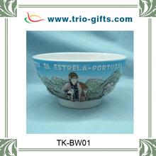 souvenir ceramic bowl sheep design