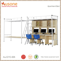 Modern Design Metal Bunk Bed with Strong Bed Frame