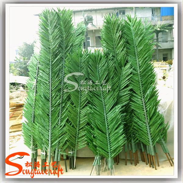 Comercio al por mayor artifiicial hojas de palmera de - Palmeras de plastico ...