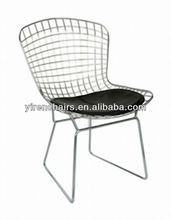 wire mesh outdoor chair/metal commercial chair/dining room home furniture