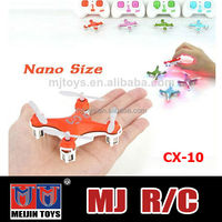 4 channel CX10 drone professional with 6 Axis gyro MINI drone with 3D stunt function