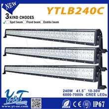 "2012 latest low price Y&T straight offroad spotlight bar 40"" for truck, heavy-duty,farming, fire engine etc"