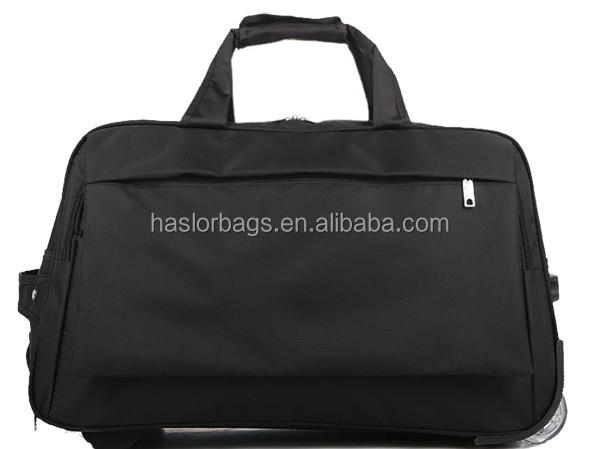 2015 nouvelle conception voyage chariot bagages, Sac de sport avec chariot
