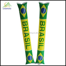 Customized 2015 world cup inflatable cheering bang bang stick lowest factory price
