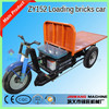Loading bricks tricycle/tricycle out of kiln