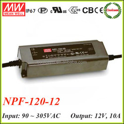 Meanwell NPF-120-12 120w switching power supply 12v 10a