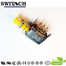 UL certified electrical push button switch