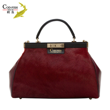 Brand fashion women handbag italy wholesale, ladies genuine leather handbag on sale