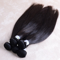 No Tangle No Shedding Unprocessed Double Drawn 3 packs 22inch Natural Straight 100% indian virgin remi human hair