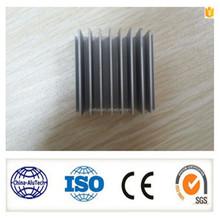smooth surface 6000 series extrusion natural anodized aluminium profile ,aluminium heat sink