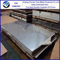 YIZE 304 stainless steel sheet/ mirror finish 316 stainless steel sheet